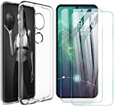 AOYIY For Nokia 7.2 Case and Screen Protector,[3 in 1]