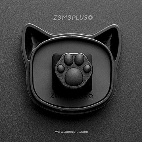 ZOMO PLUS ABS Plastic Artisan Keycap Dual Black