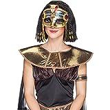 Máscara de faraón Egipcio Antiguo Serpiente Oro Máscara Máscara Faraones Cleopatra Egipto máscara del Carnaval de la Serpiente de máscara de Carnaval Disfraces de Carnaval de Accesorios
