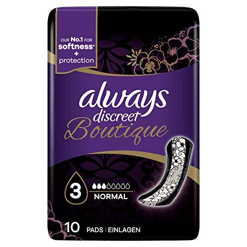 Always Discreet Boutique Pads Normaal, Pack van 10