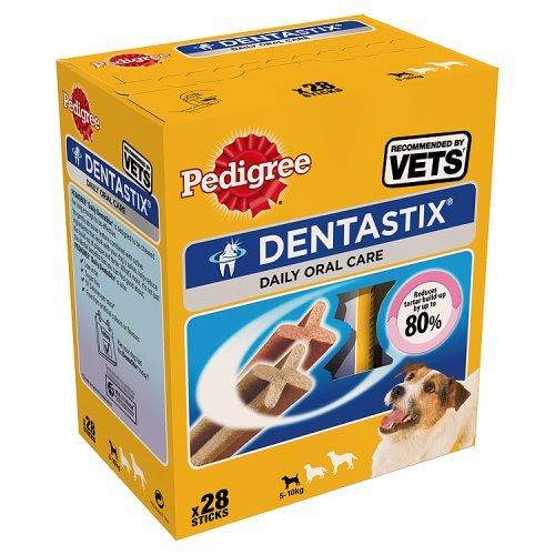 Pedigree Snacks DentaStix Multipack für junge und kleine Hunde (4-10kg), 1er Pack (1 x 440 g)