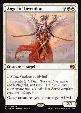 Magic The Gathering - Angel of Invention (004/264) - Kaladesh