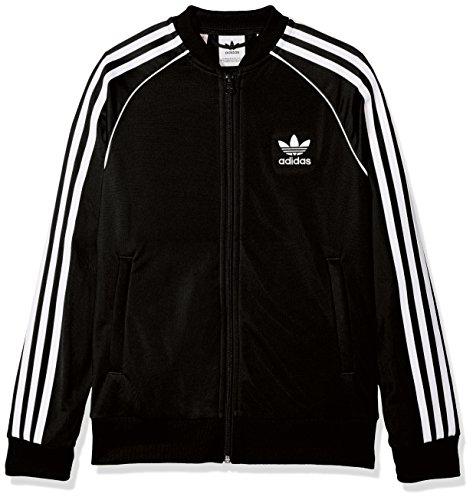 adidas Jungen SST Originals Jacke, Black, 140