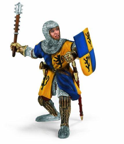 Schleich 70023 - Ritter, Fußsoldat mit Streitkolben