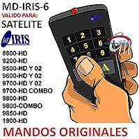 Mando Original para Iris 9800HD, 9800HD Combo. Compatible 9700HD, 9700HD Combo, 9200HD, 9600HD, 9500HD