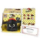 Basic Fun Pound Puppies Newborns - Classic Stuffed Animal Plush Toy - 8' - Black - Great Gift for Boys & Girls