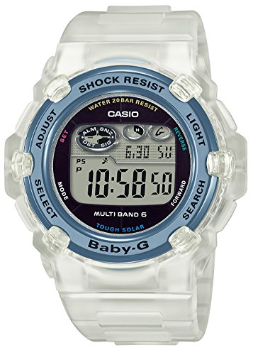 [カシオ] 腕時計 ベビージー ラブザシーアンドジアース 電波ソーラー BGR-3008K-7JR レディース