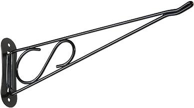 National Hardware N274-795 V2651 Decorative Swivel Brackets in Black, 10