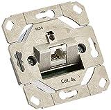 Gira 245100 - Enchufe de transmisión de Datos (1 Entrada Cat.6A, IEEE 802.3an)