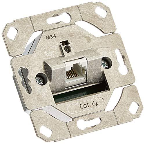 Gira 245100 Netzwerkdose 1-fach Cat.6A IEEE 802.3an Einsatz
