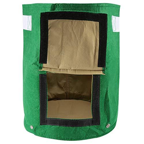 Grow Bag, 1Pc Outdoor Garden Potato Grow Planter Felt Cloth Planting Container Bag, Perfect for Using in Home Balcony and Garden