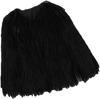 Maweisong Women Winter Warm Faux Fur Short Jacket Parka Outerwear