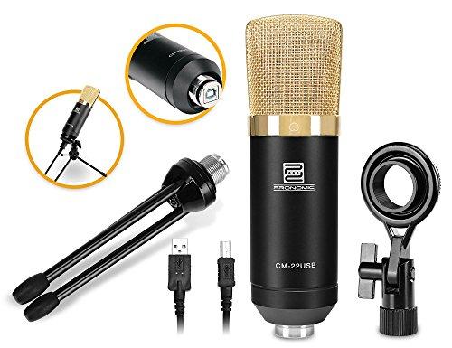 Pronomic CM-22-USB microphone à grande...