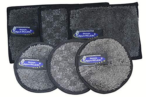 Aqua Clean Black Edition Reinigungs- & Spülpads 6tlg.
