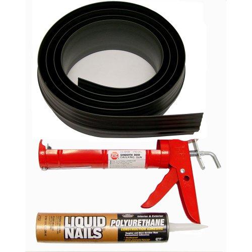 Tsunami Seal 53010 Lifetime Garage Door Threshold Seal Kit - 10 Foot,...