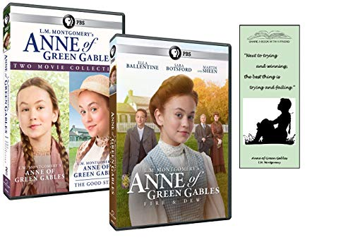 Anne of Green Gables Trilogy Gift Set: Anne of Green Gables + The Good Stars + Fire & Dew, 3-DVD Set with Bonus Bookmark (L.M. Montgomery)