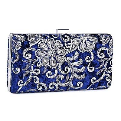 UBORSE Women Evening Bags Embroidery Wedding Party Clutch Purse Vintage Handbag