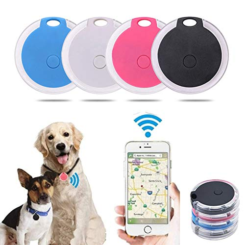 Mini Localizador De Dispositivos De Seguimiento Gps Para Perros Redondo Portátil Bluetooth Dispositivo Inteligente Antipérdida Para Maletas Kid Pet Alarmas Bluetooth Rastreador Inteligente De Bluetoot