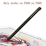 SOMEFUN Touch Stylus S Pen Replacement Parts for Galaxy Tab A 10.1(2016) SM-P580 P580 P585 Stylus S Pen【Don't Work on T580 & T585】[Black]