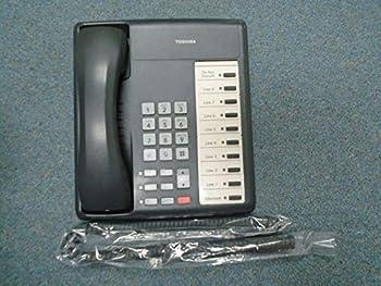 Toshiba Strata CIX100 DKT 3210 S 10 Button NO Display Speaker Telephone Charcoal  Renewed