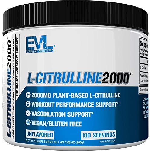 L-Citrulline 2000, Unflavored - 200g