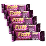 FattBar Chocolate Bites (2 x 27g) - Pack of 5 | 3 Grams Carbs per Portion, Keto, Low Carb, Low Sugar, All Natural, No Polyols, Healthy Fats, Delicious, Vegan, Gluten Free, Plant Protein