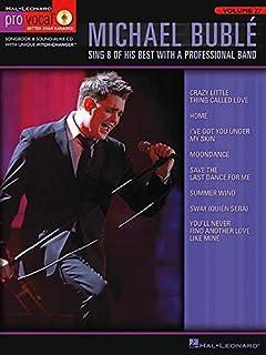 Michael Bublé Pro Vocal Vol.27