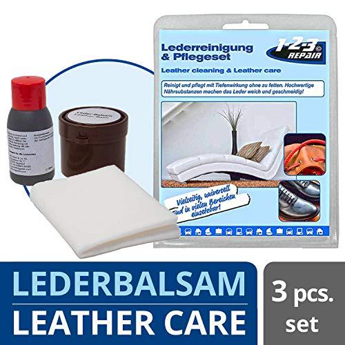 1-2-3 REPAIR Limpieza Cuero y Piel