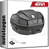 givi maleta wl901 trekker ii 35 + porta-equipaje compatible con kawasaki z900 z 900 2020 20