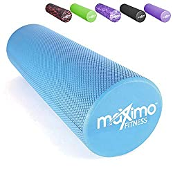 ✅ MEDIUM DENSITY FOAM ROLLER – Firm enough to provide support but not hard enough to be uncomfortable. It has a textured surface which provides a more comfortable muscle massage, when compared to other bumpy Foam Rollers. ✅ INSTRUCTIONS INCLUDED - To...