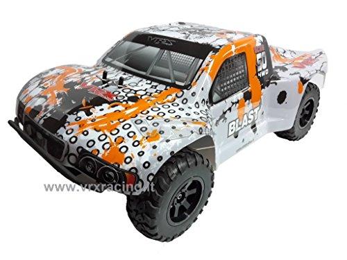 VRX Modello off-Road (con Doppio Telaio in Metallo) Short Course Truck DT5 EBD Meccanica Completa CARROZZERIA E PIGNONE1/10