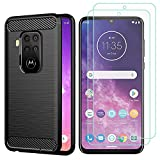AOYIY For Motorola One Zoom Case And Screen Protector,[3 in