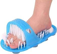 Siliconen antislip Voet Borstel Plastic Bad Douche Massager Slippers Puimsteen Voet Scrubber Verwijderen Dode Huid Voetver...