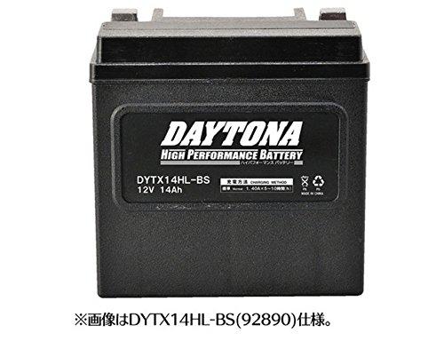 デイトナ ハイパフォーマンス バッテリー DYTX14-BS VRLA 制御弁式MFバッテリーGELタイプ 92888