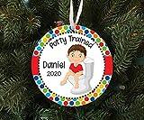 Ninguna marca de Navidad ornamento 2020 Santa Claus personalizado para niños...