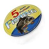 Pesca Soluble PVA Malla de Malla de Agua para disolver Versión Cebo de Pesca Wrap Bolsa de Accesorios 25 * 5 mm