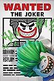 Batman Póster The Lego Movie - The Joker [Wanted] (61cm x 91,5cm) + 1 Póster con Motivo de Paraiso Playero