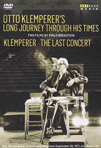 Otto Klemperer´s Long Journey through Times / The Last Concert (2-DVDs + 2 CDs)