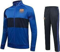 HS-HWH316 Barcelona, Transpirable Chándal Set Gimnasio Sendero Bottoms Informal Full Zip Joggers Fitness Deportivo Sweatsuit con Los Bolsillos Ventiladores Ropa De Regalos,24110~125CM