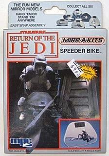 Star Wars Return of the Jedi Mirr-A-Kits Speeder Bike Model [Toy]