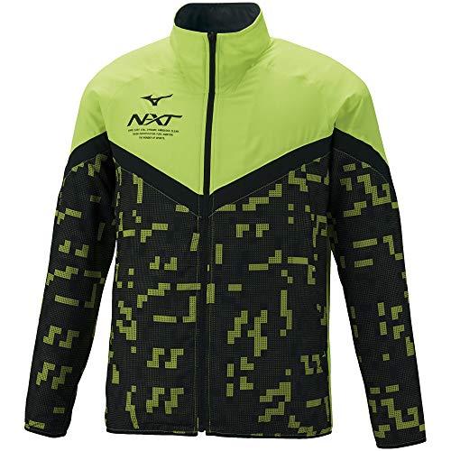 [ミズノ] トレーニングウェア N-XT クロスジャケット 吸汗速乾 32JC1220 セーフティイエロー M