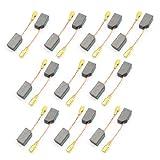 sourcingmap 14mm x 8mm x 6mm Motore Spazzola Di Carbone Carboncini 10Pairs per Dewalt 100