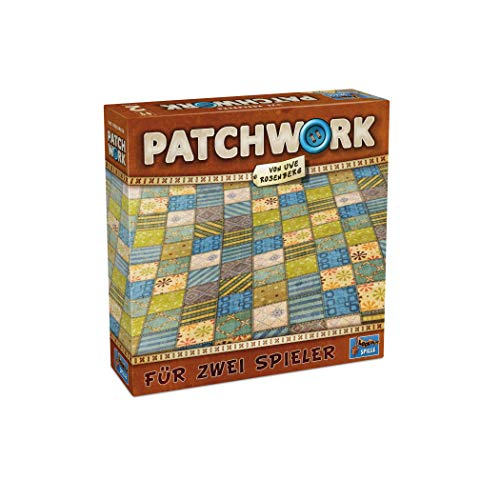 Lookout Games 22160075 - Patchwork, 2-Spieler-Spiel von Uwe Rosenberg