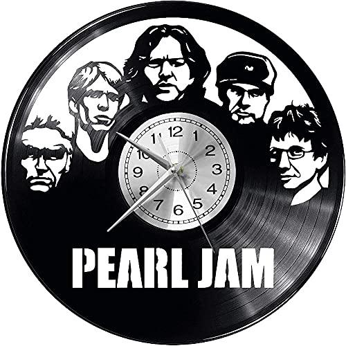 hhhjjj Orologio da Parete Vintage in Vinile Pearl Jam