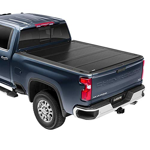 "Gator FX Hard Quad-Fold Truck Bed Tonneau Cover | 8828121 | Fits 2014 - 2018, 2019 Ltd/Lgcy Chevy Silverado 6' 6"" Bed 