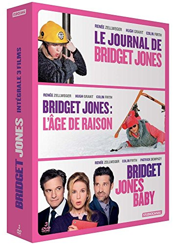 Coffret bridget jones 3 films : le journal de bridget jones ; l'âge de raison ; bridget jones baby [FR Import]