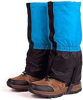 1 par barn vandring damasker bendamasker, damask snö leggings för män damer lättvikt vattentät andas hållbar promenader ut...