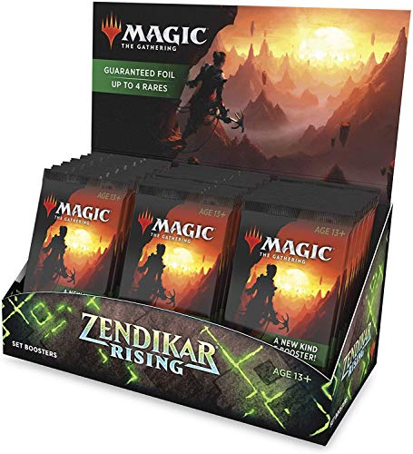 Magic: The Gathering Zendikars Erneuerung Set-Booster-Display (30 Packungen Plus 1 Box-Topper)