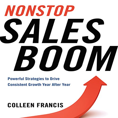 Nonstop Sales Boom audiobook cover art