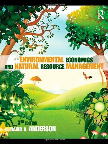 Environmental Economics and Natural Resource Management...